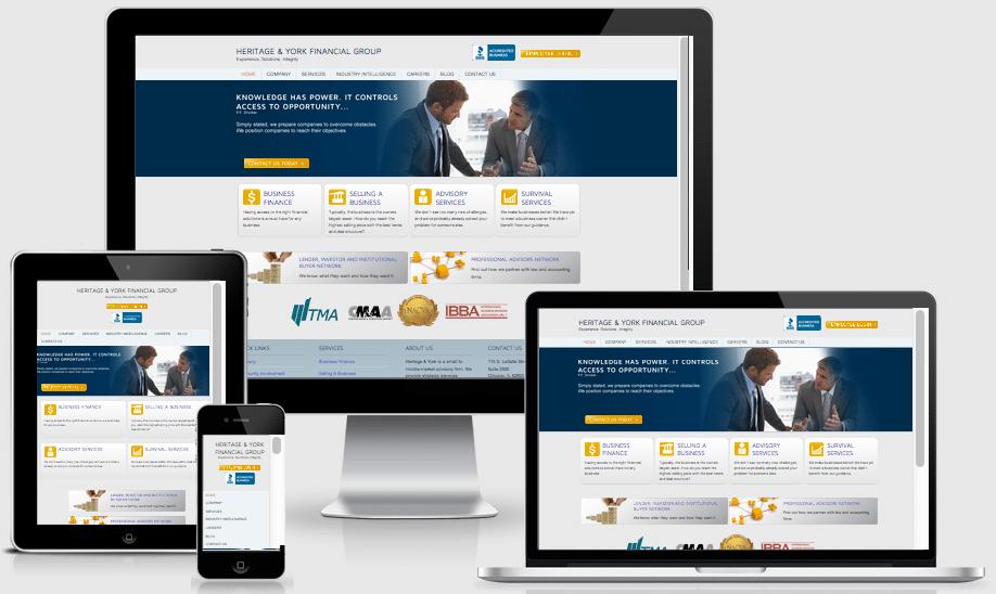 contoh website perusahaan di Palembang