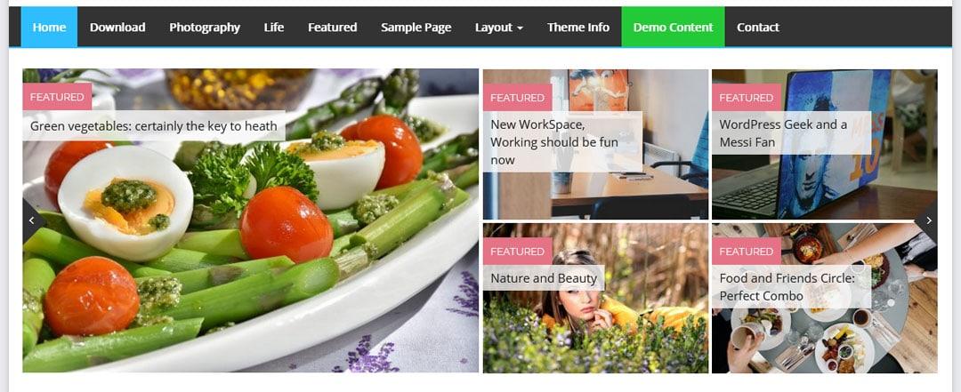slider website berita