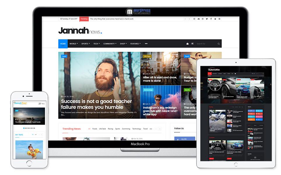 desain website berita tahun 2020