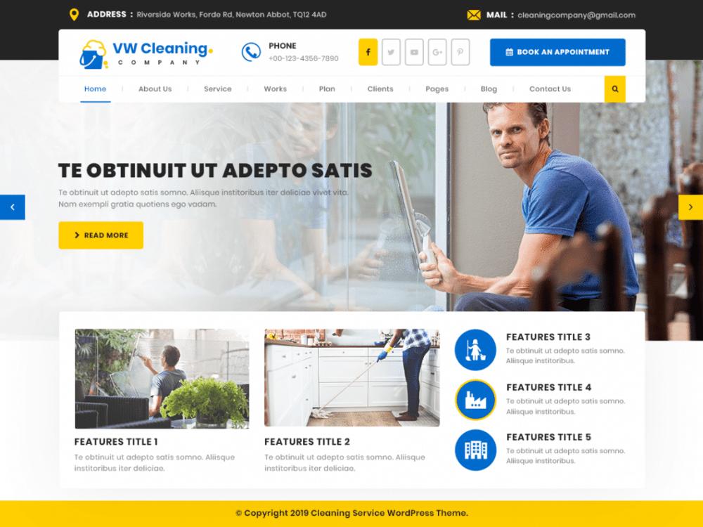 Contoh Desain dan Fitur Website Perusahaan