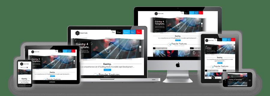 website perusahaan responsive