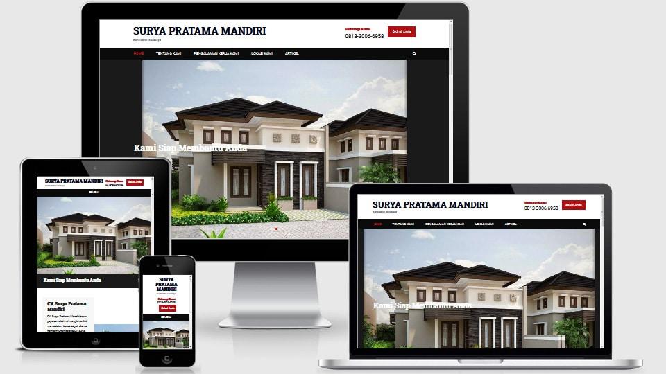 Jasa Pembuatan Website Kontraktor Jogja Murah