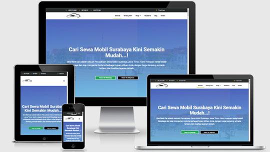 jasa pembuatan website rental mobil sleman