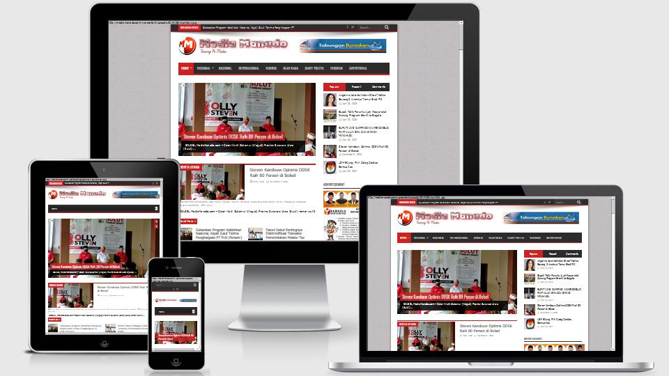 web berita media manado