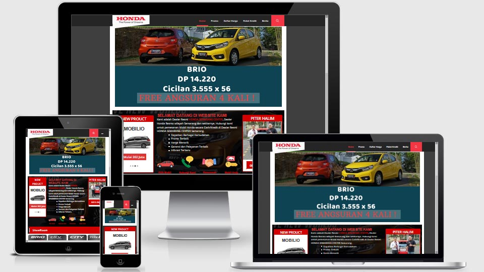jasa pembuatan website dealer mobil Jogja