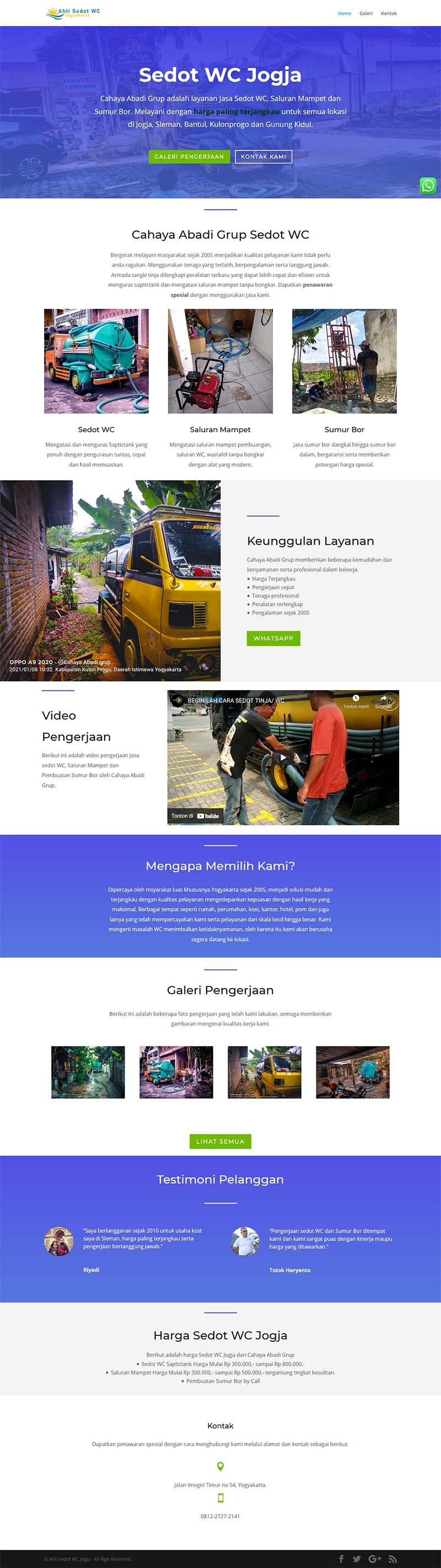 contoh website usaha 3