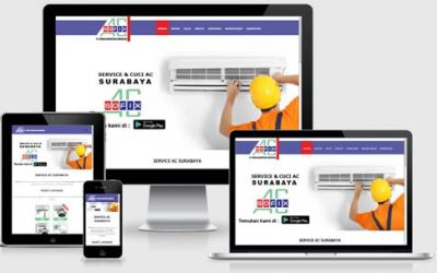 Jasa Pembuatan Website Servis AC Jogja