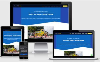 Jasa Pembuatan Website Sedot Wc Jogja Murah