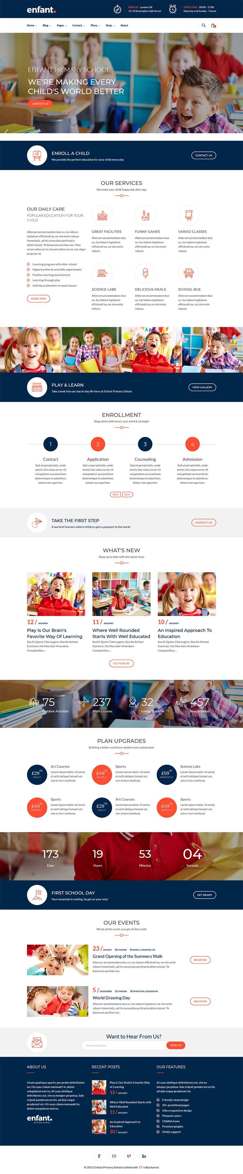 pilihan desain website sekolah 2