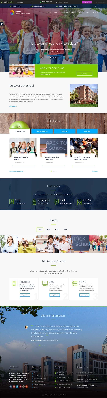pilihan desain website sekolah 3