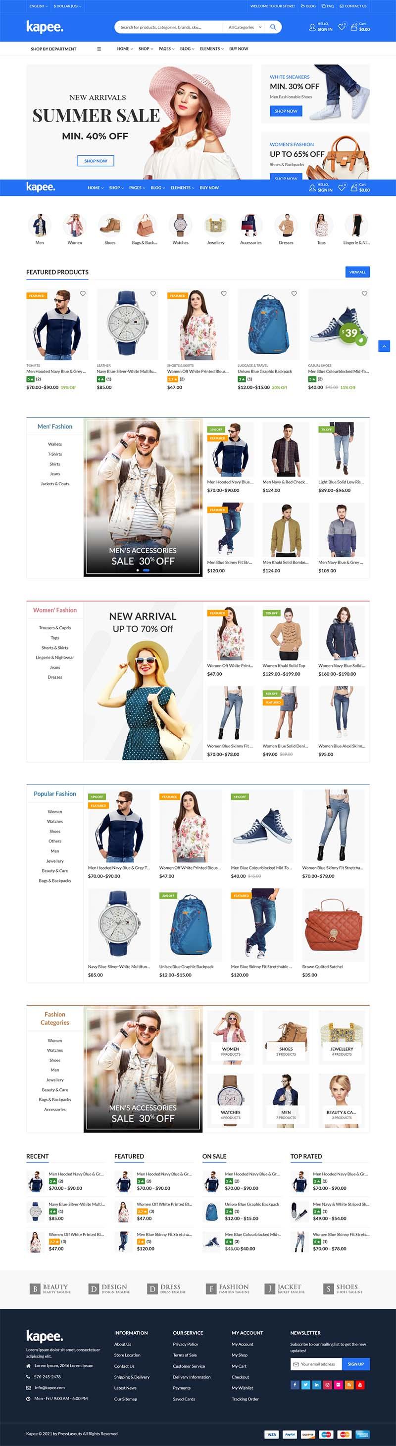 pilihan desain website toko online 1