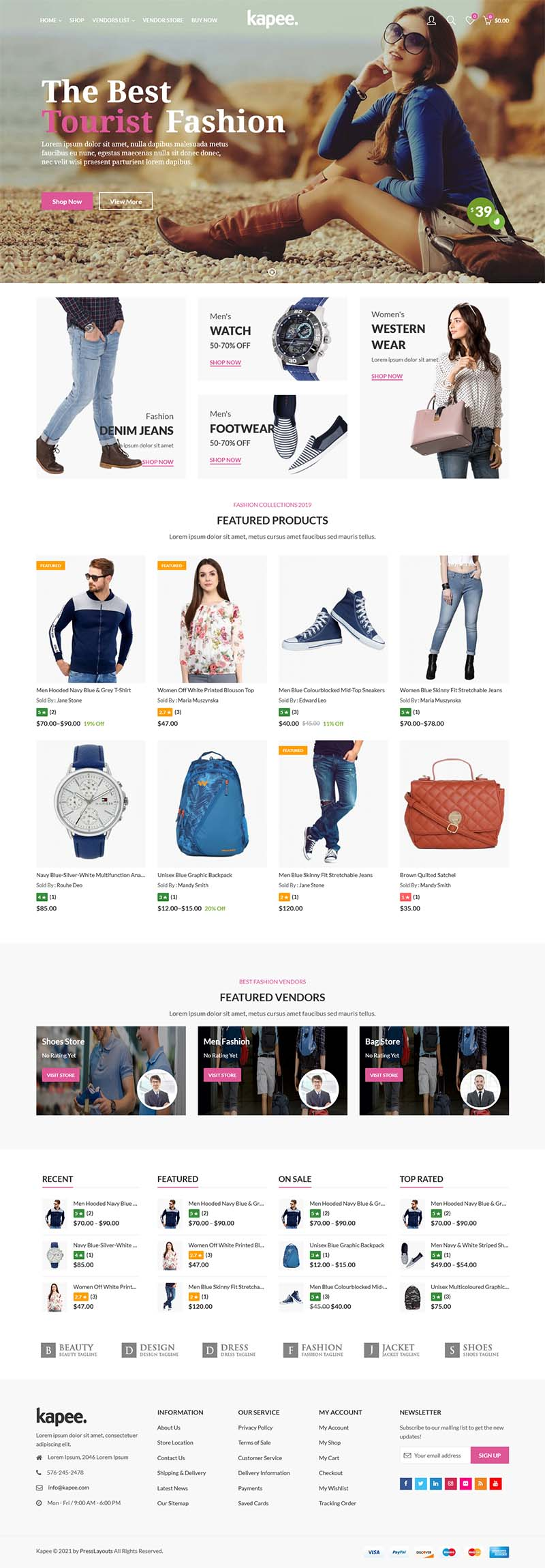 pilihan desain website toko online 2