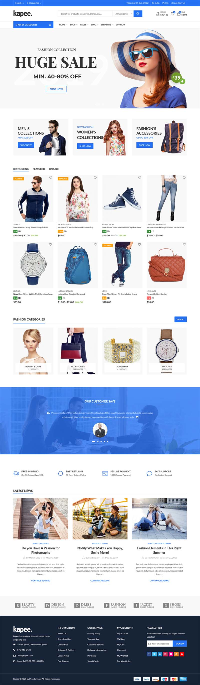 pilihan desain website toko online 3