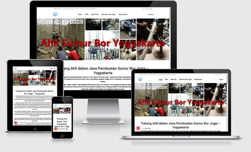 jasa pembuatan website sedot wc Jogja