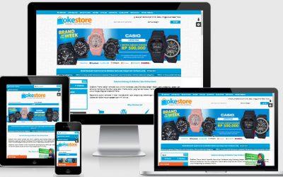 Detail Paket Website Toko Online Murah Rp 350.000,-